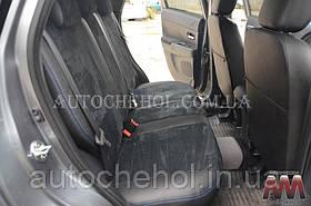 Качественные чехлы на сиденья Citroen C4 Aircross, авточехлы на ситроен С4, AM-S, automania