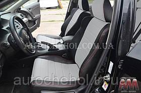 Качественные чехлы на сиденья Honda Accord 2007 - 2012, авточехлы на акорд, AM-S, automania