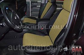 Якісні чохли на сидіння Hyundai Santafe 2, авточохли на мантафе 2, AM-S, automania