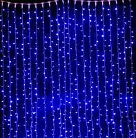 Светодиодная Гирлянда Штора Новогодняя Занавеска 360 LED 2 х 3 м Цвета в Ассортименте