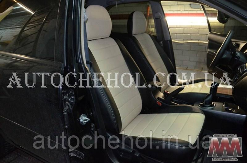 Качественные чехлы на сиденья Mitshubishi Lancer IX, авточехлына лансер 9, AM-S, automania