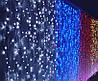 Светодиодная Гирлянда Штора Новогодняя Занавеска 360 LED 3 х 3 м Цвета в Ассортименте, фото 2