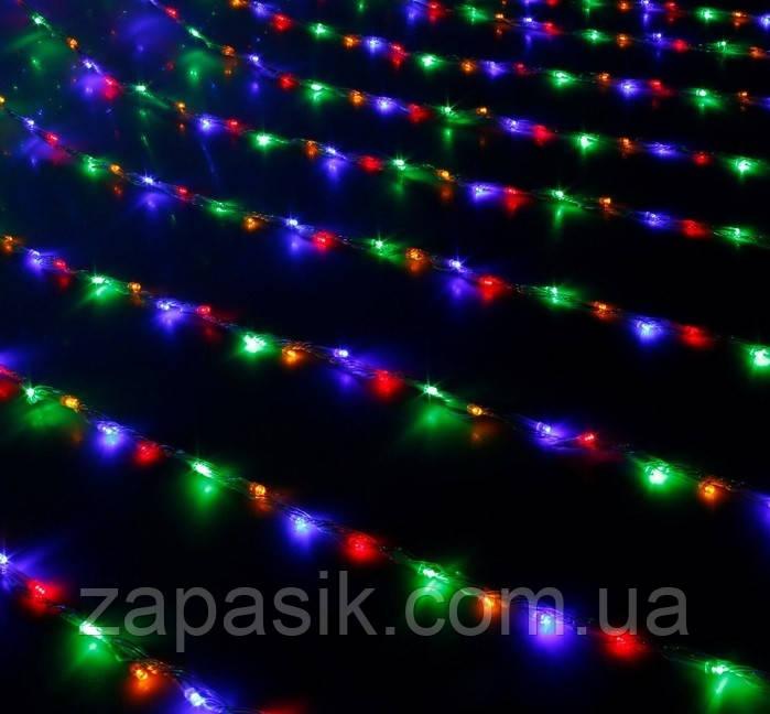 Уличная Светодиодная Гирлянда Водопад Новогодняя 800 LED Мульти