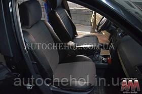 Качественные чехлы на сиденья Renault Megane 2003, авточехлы на рено меган 2003, 40/60 спинка, AM-S, automania