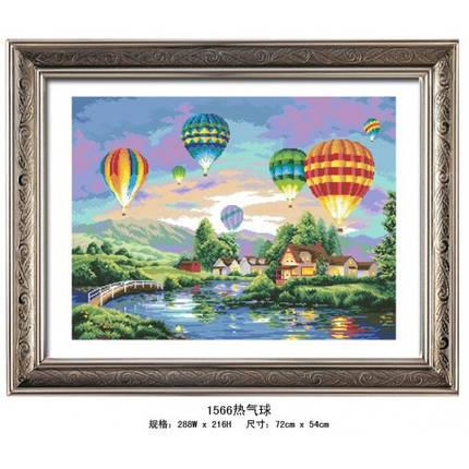 """Набор для рисования камнями """"Воздушные шары"""", фото 2"""