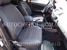 Качественные чехлы на сиденья Toyota Hilux, premium style