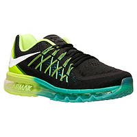 60b146996080 Новинка Кроссовки Nike Air Max 2015 Black Volt Hyper Jade White