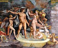 Фреска декоративная-печать и нанесение фресок любого размера, фото 1