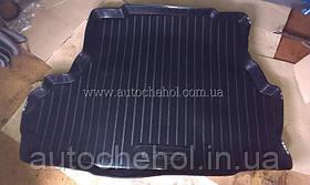 Качественный черный коврик в багажник Chevrolet Epica