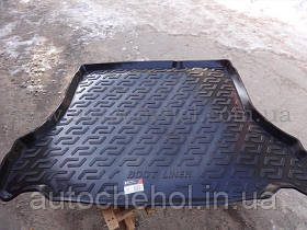 Качественный черный резиновый ковер в багажник ZAZ Lanos