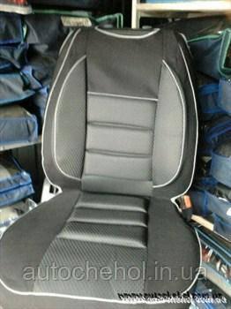 Майки для автомобильных сидений черно-красные