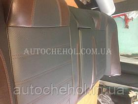 Модельные чехлы на сиденья Honda Accord CC7, чехлы на акорд кузов CC7, Cobra