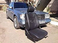 Модельные чехлы на сиденья Mercedes 124, чехлы на мерс 124, Cobra