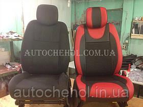 Модельные чехлы на сиденья Renault Megane 3, чехлы на меган 3, серия Color, Cobra