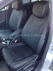Модельные чехлы на сиденья Renault Megane II, чехлы на меган, Cobra