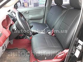 Модельные чехлы на сиденья Toyota Hilux 2006, чехлы на хайлюкс, Cobra