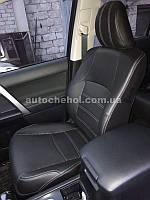 Модельные чехлы на сиденья Toyota Prado 150, чехлы на прадо, Cobra