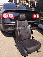 Модельные чехлы на сиденья Volkswagen Passat B6, чехлы на пассат б6, Cobra