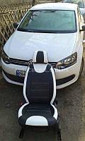 Модельные чехлы на сиденья Volkswagen Polo, чехлы на поло, серия Color, Cobra