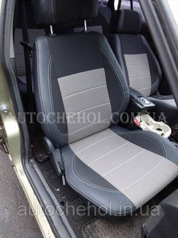 Светлые чехлы на сиденья Daewoo Nexia, чехлы на нексия, Premium Style, MW BROTHERS