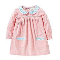 Платье для девочки Маленький горошей, розовый Jumping Beans