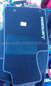 СЕРЫЕ Текстильные коврики на Mitshubishi L200