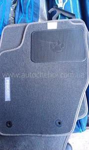 СЕРЫЕ Текстильные коврики на Peugeot 2008 2013