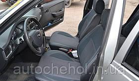 Серые чехлы на сиденья Daewoo Nexia, чехлы на ланос, MW BROTHERS