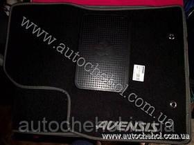 Текстильные коврики для Toyota Avensis