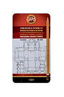 Набор карандашей 1502/l Technic металлическая упаковка KOH-I-NOOR Hardmuth