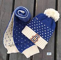Шапка детская шапка шарф набор детский осень холодная зима шапка дитяча  набір дитячий осінь зима ec92b15c50703