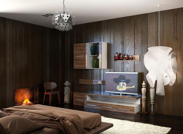 Комплект мебели для гостиной Дарси