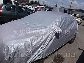 Тент автом. CC13401 XL серый с подкладкой PEVA+PP Catton