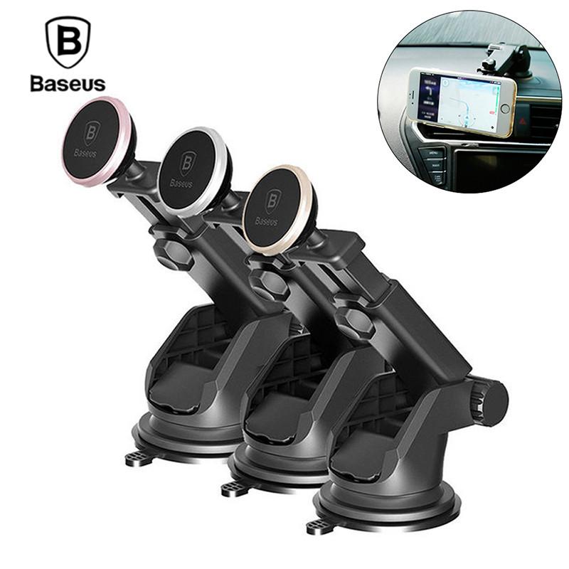 Магнитный автомобильный телескопический держатель для смартфона Baseus Mechanical Era Car Mount