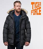 Tiger Force 71368 | Куртка мужская на зиму темно-серая   ( S M L XL 2XL)