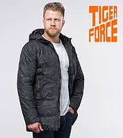 Tiger Force 59910 | Мужская зимняя куртка черная(S M L XL 2XL)
