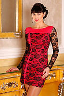 Вечернее платье с гипюром, Roksana 44-48р, фото 1