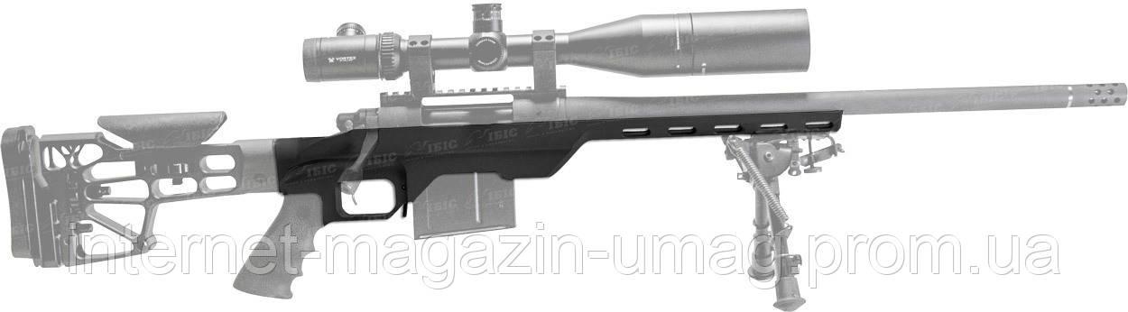 Ложа MDT LSS-XL для карабинов Howa 1500/Weatherby Vanguard Short Action алюминиевая, черная