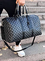 bfc73337a7a5 Сумка дорожная ручная кладь саквояж спорт для путешествий Louis Vuitton  копия реплика