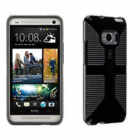 Чехол Speck CandyShell Grip Case for HTC One Smartphone - Black/Slate