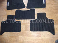 Черные качественные текстильные коврики в салон BMW X 5 Beltex
