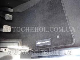 Черные качественные текстильные коврики в салон Chevrolet Cruze, Beltex