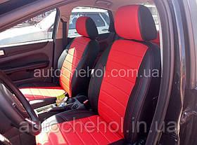 Черные чехлы на сиденья Ford Focus 2, авточехлы киа рио, AM-X, automania