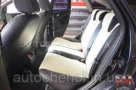 Черные чехлы на сиденья Ford Focus 2, авточехлы форд фокус, AM-X, automania