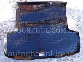 Черный качественный коврик в багажник Fiat Linea 2007, Lada Locker
