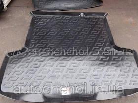 Черный качественный коврик в багажник FIAT LINEA 2009