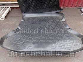 Черный качественный коврик в багажник LADA Priora