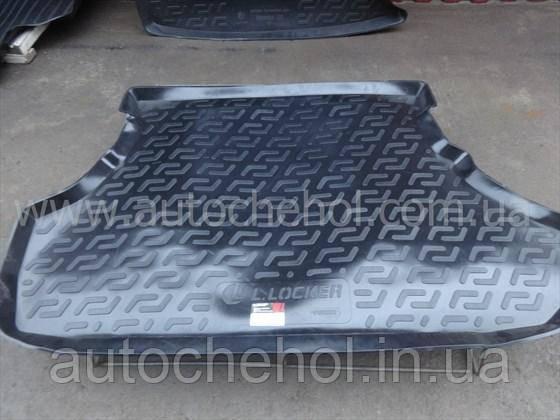 Черный качественный коврик в багажник Mitshubishi Lancer Sportback