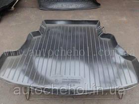 Черный качественный коврик в багажник Nissan Prepiera sedan