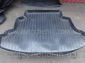 Черный качественный коврик в багажник Toyota Corolla 2002